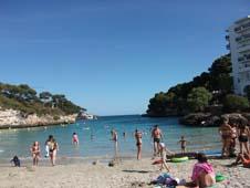 Cala Ferrera beach